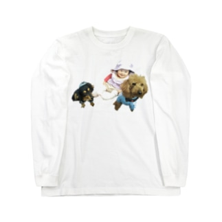 さん兄弟 Long sleeve T-shirts