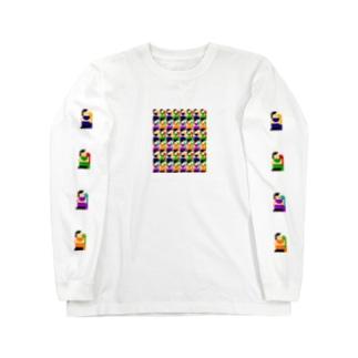 体育座り Long sleeve T-shirts