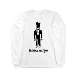ファッションデザイナー Long sleeve T-shirts