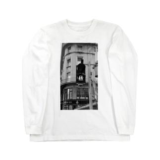 カップル信号 in オーストリア ウィーン Long sleeve T-shirts