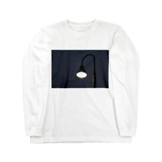 かわいい街灯くん(2) Long sleeve T-shirts