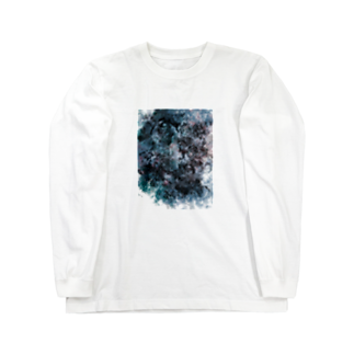 魚やの影(白) Long sleeve T-shirts