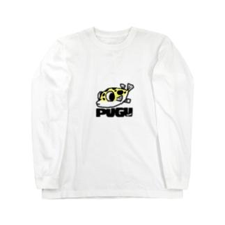 フグのキナ2 Long sleeve T-shirts