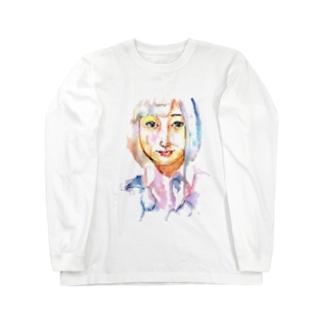 シシカバぐっずの女子高生 Long sleeve T-shirts