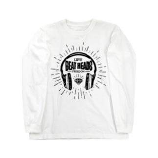 BEATHEADS black print Long sleeve T-shirts
