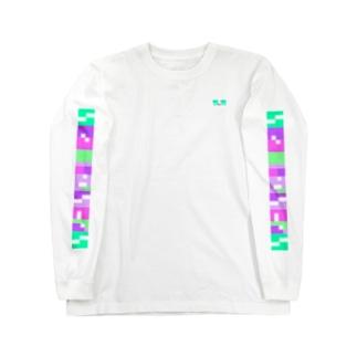 いきるのにむいてない purple Long sleeve T-shirts