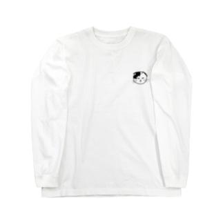 よく似てるにゃーちゃん Long sleeve T-shirts