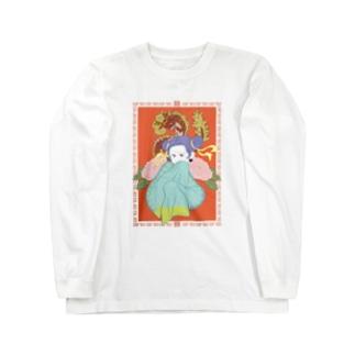 中華ガール Long sleeve T-shirts