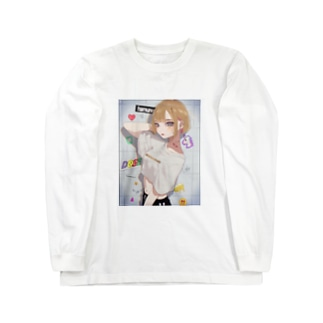 フォトジェニックガール Long sleeve T-shirts