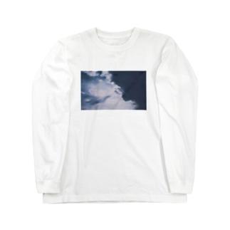 青に影 Long sleeve T-shirts