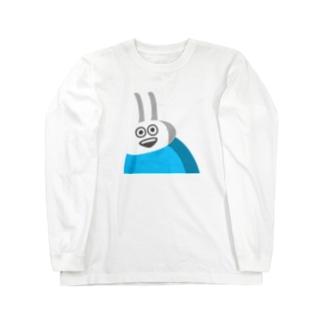 STUDYのショップのウザギさん Long sleeve T-shirts