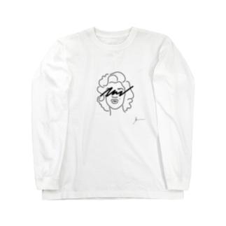 マリリンモンロー Long sleeve T-shirts