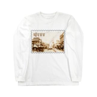 インド:ニューデリー★白地の製品だけご利用ください!! India: New Delhi★Recommend for white base products only !! Long sleeve T-shirts