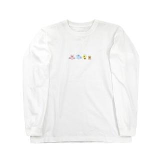 なまいキッズのベイビーシリーズ Long sleeve T-shirts