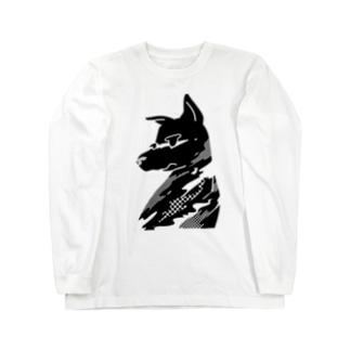 dooooog Long sleeve T-shirts