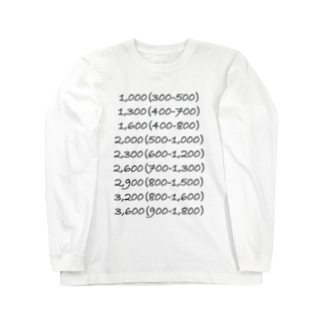子の1翻 Long sleeve T-shirts