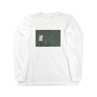 三人 Long sleeve T-shirts