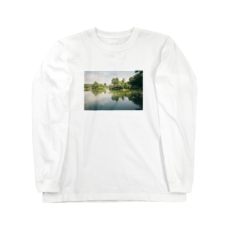 兼六園 Long sleeve T-shirts