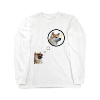 もも君大好きだよ! Long sleeve T-shirts