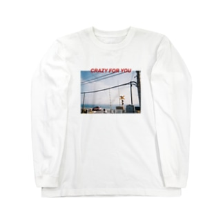 CRAZY FOR YOU Long sleeve T-shirts