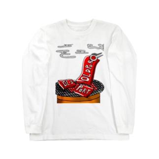 old_port yakiniku Long sleeve T-shirts
