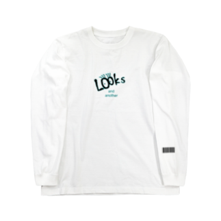 Looks and anotherのPage01  バーコード ロンT Long sleeve T-shirts