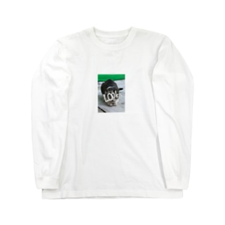 Page02 ネコ ロンT Long sleeve T-shirts