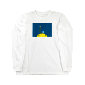 つっこみ処のぺんぺん草とペンペン Long sleeve T-shirts