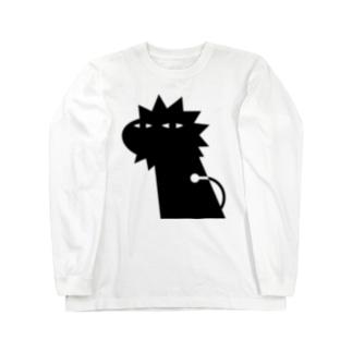 ANIMALシリーズ らいおん Long sleeve T-shirts
