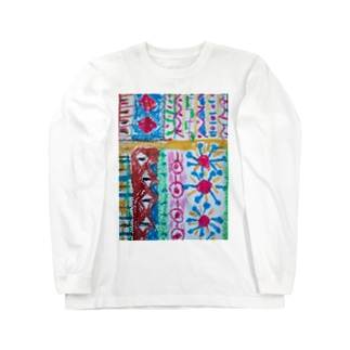 105colorful Long sleeve T-shirts