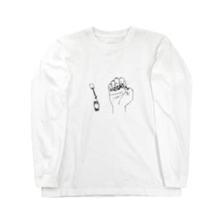 タピオカネイル Long sleeve T-shirts