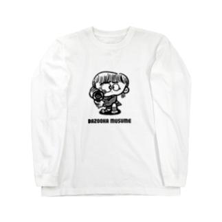 BAZOOKA MUSUME Long sleeve T-shirts