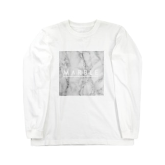 マーブル Long sleeve T-shirts