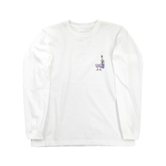 ワイン(2人前) Long sleeve T-shirts