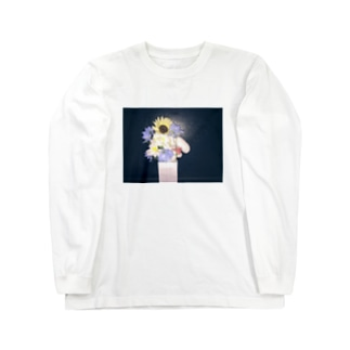 PM21:06 向日葵とナタリー Long sleeve T-shirts