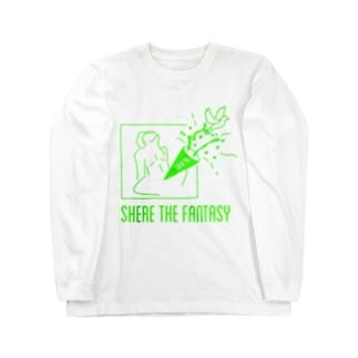 fantasticグリーン Long sleeve T-shirts
