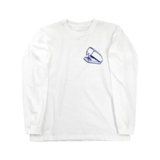 ホッチキス Long sleeve T-shirts