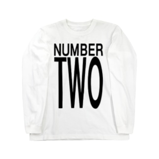 Number Two Long sleeve T-shirts