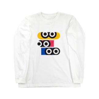 ギョロ目3 Long sleeve T-shirts