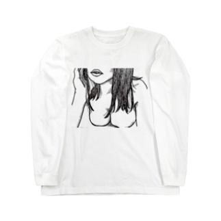 女体 Long sleeve T-shirts