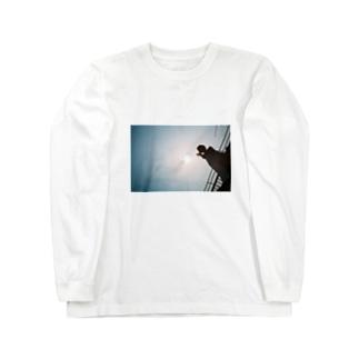 真冬の屋上 Long sleeve T-shirts
