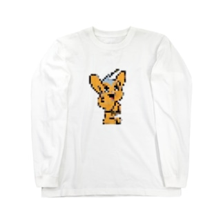 繝斐�繝くん Long sleeve T-shirts