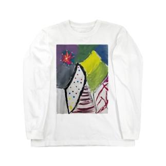 絵画「メンヘラ」 Long sleeve T-shirts