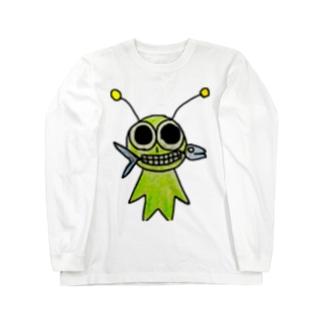 山田みどり Long sleeve T-shirts