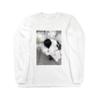 ゴミの擬人化 Long sleeve T-shirts