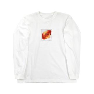 ふわとろオムライス Long sleeve T-shirts