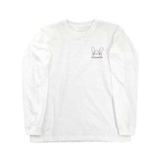 ひょっこり Long sleeve T-shirts