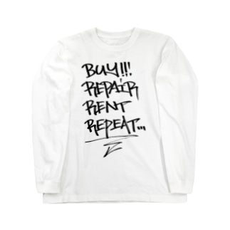 buy.repair.rent.repeat Long sleeve T-shirts