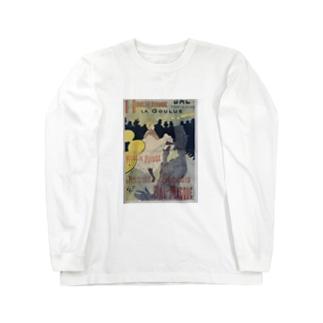 Poster for 'Le Moulin Rouge', Henri de Toulouse-Lautrec Long sleeve T-shirts