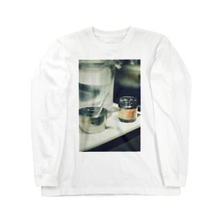 麻婆豆腐、好き? Long sleeve T-shirts